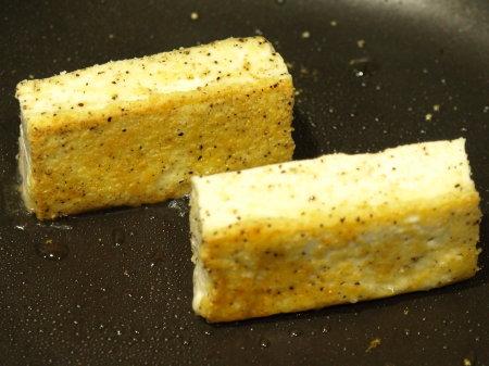 チーズサクサク豆腐ステーキ8