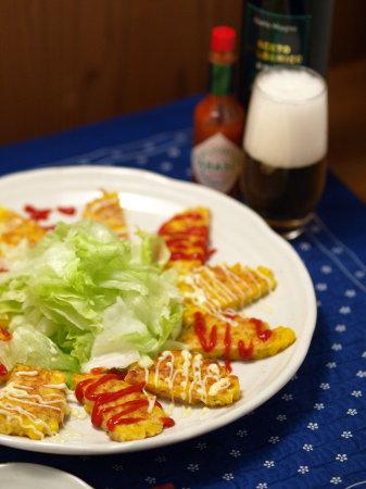 コーンチーズお焼き7
