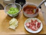 豚チリソース丼1