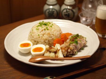 土鍋海南鶏飯13