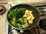 豆腐青梗菜コンビーフ9