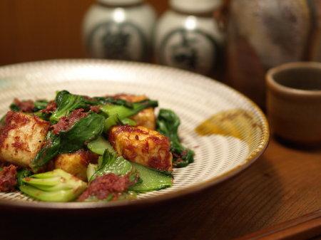 豆腐青梗菜コンビーフ13