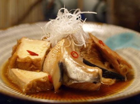 サーモンあらの辛味煮19