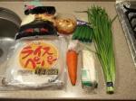 野菜の生春巻き焼き1