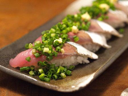 秋刀魚握り2種35