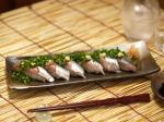 秋刀魚握り2種32