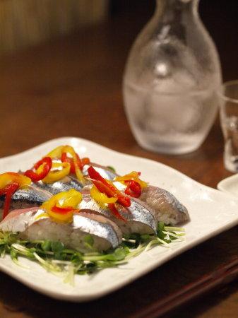 秋刀魚握り2種39