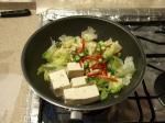 豆腐とレタスのかにあんかけ9
