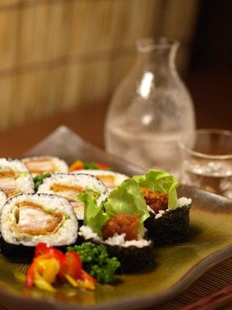 セブンで太巻き寿司40