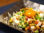 枝豆ユッケサラダ風10
