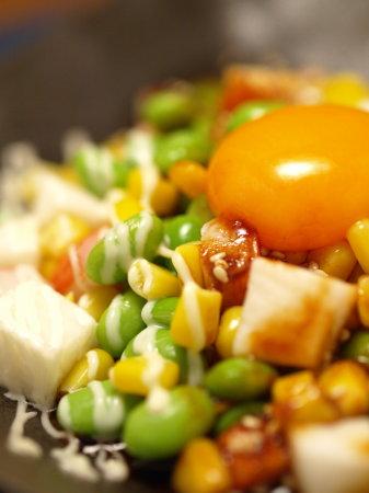 枝豆ユッケサラダ風11