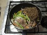 アスパラ焼き蕎麦4
