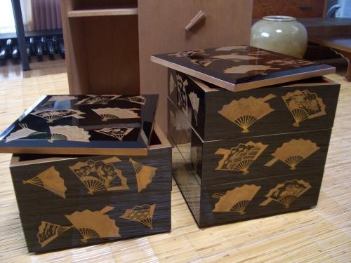 文台と硯箱