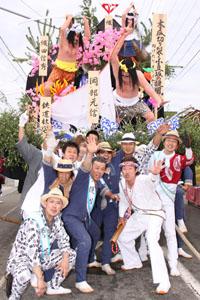その他撮影 土崎港祭り 同級生1