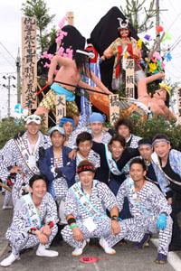 その他撮影 土崎港祭り 同級生2