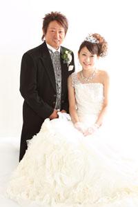 秋田のブライダルフォト スタジオ撮影 写真だけの結婚式