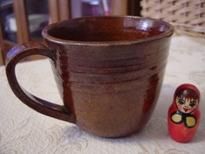 陶芸コーヒーカップ