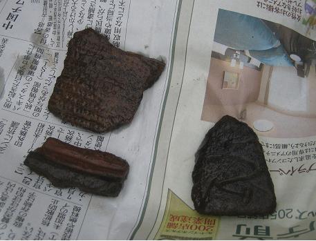 3500年前の土器