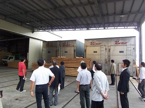 木材乾燥機