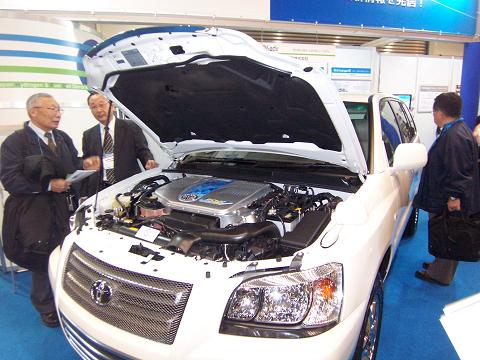 燃料電池カー