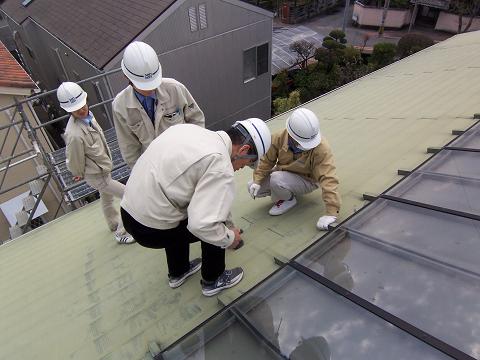 屋根点検1