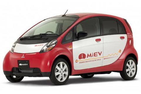 三菱自動車の電気自動車iMiEV