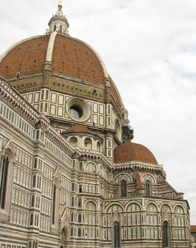 イタリアフィレンツェ ドーム概観