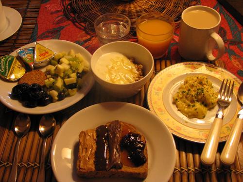 イタリア フィレンツェ カーサパルミラ 朝食