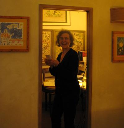 イタリア フィレンツェ カーサパルミラ オーナー