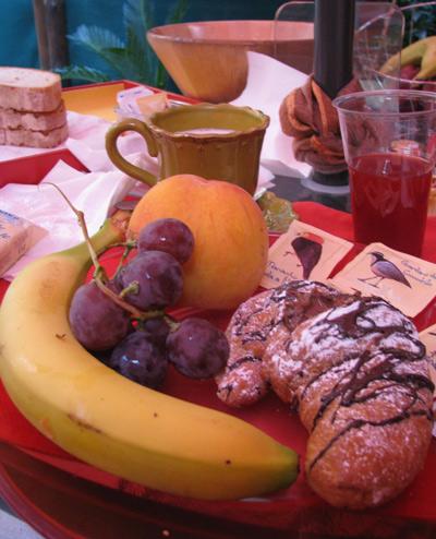 イタリア ローマ 市内 朝食
