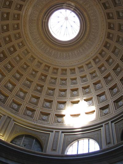 イタリア ローマ ヴァチカン美術館 天井