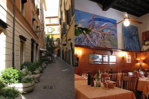イタリア ローマ 昼食