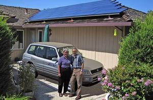 太陽光発電でクルマと家がつながる