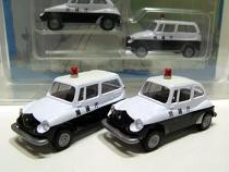 ミニカー/スバル360パトカー