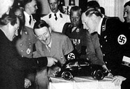 ポルシェ博士とヒトラー