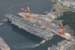 ジョージ・ワシントンの母港、横須賀