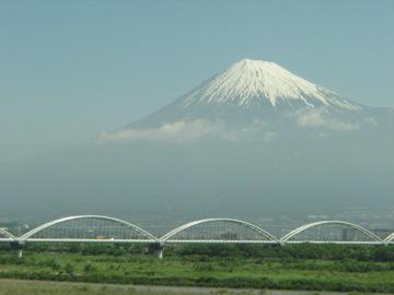 富士山と橋