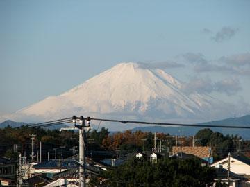 今日の富士山1206