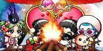 燃えカップル1