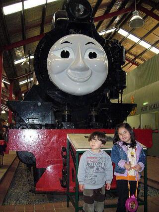 本物機関車