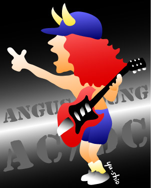 Angus Young AC/DC