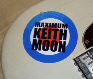 fender stratocaster maximum keith moon
