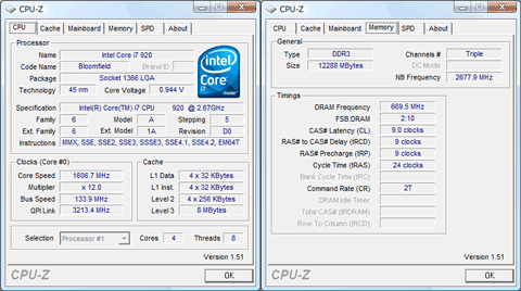 CPU-Z 1.51