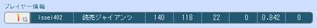 SSPライト級12月15日プレイヤー情報