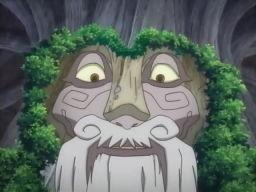 おかしな木