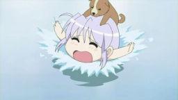 溺れる犬&フィーナ