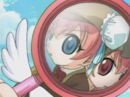 未来が見える虫眼鏡