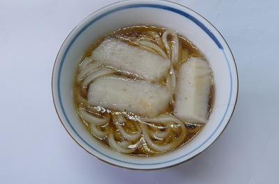 肉うどんスープ with 蒲鉾 made in 新潟