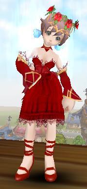 レッドドレス フリフオンライン