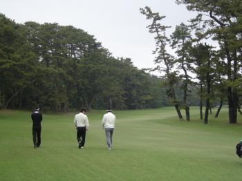 大洗ゴルフ倶楽部 OUT2番